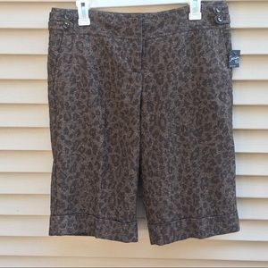 NWT Limited Cassidy fit bermuda long shorts capris